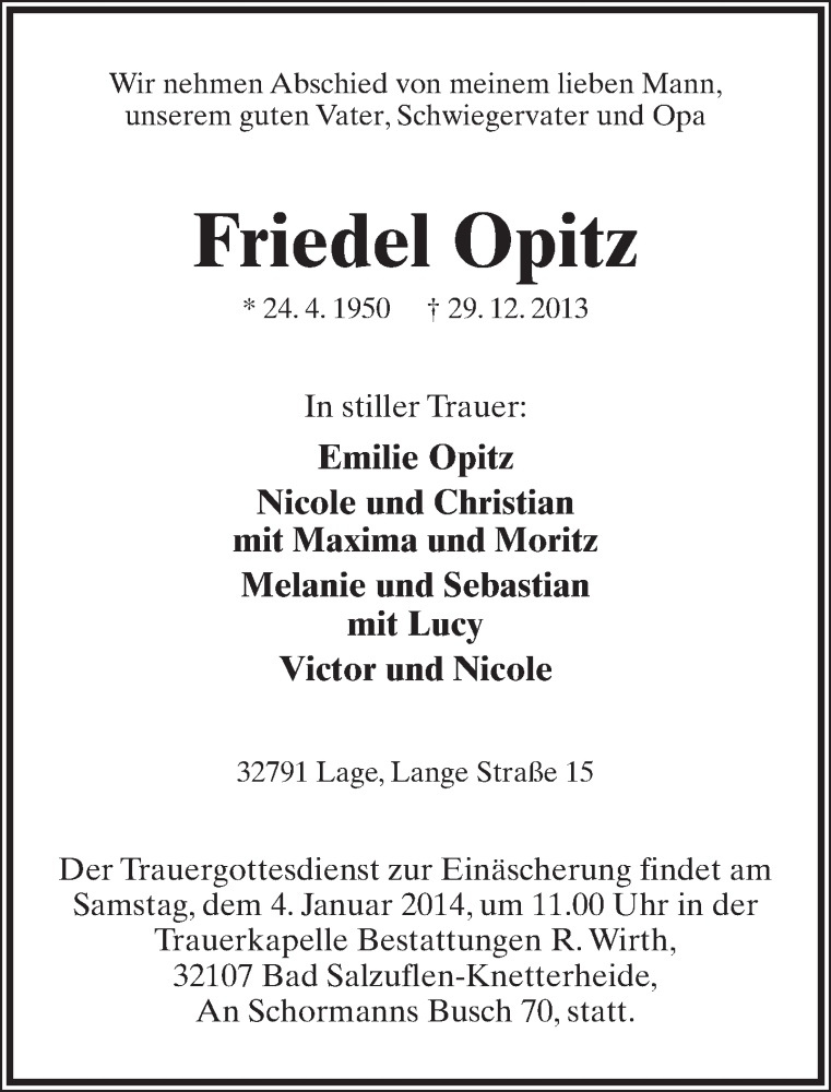 Friedel Opitz