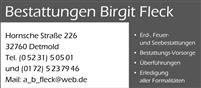 Logo von Bestattungen Birgit Fleck