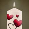 Kerze für Hast für